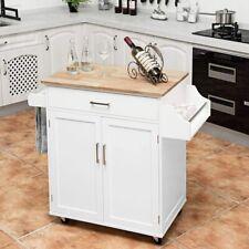 Küchenwagen mit Rollen Kücheninsel Küchenschrank Servierwagen Kücheninselwagen