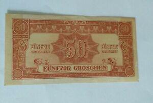 50 funfzig groschen - ALLIED OCCUPATION OF AUSTRIA currency 1944 rjkstamps