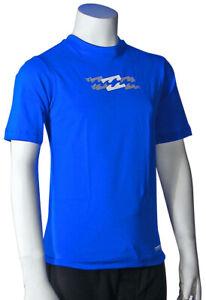 Billabong Boy's Amphibious SS Surf Shirt - Royal Blue - New