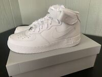 Nike Air Force One 1 Mid White 315123-111 Men's & GS Size 3.5y-15