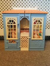 Vintage Barbie Doll Cottage 1998 Kitchen House Collectable