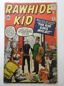 """Rawhide Kid #30 """"The Kid Goes Wild!"""" Solid Good Condition!!"""