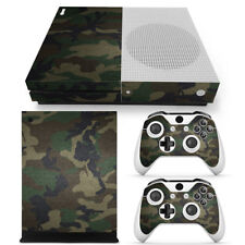 Xbox One S Slim Skin Camouflage Camo Sticker Vinly Decal Console &Controllers