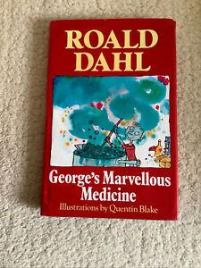 GEORGE'S MARVELLOUS MEDICINE by ROALD DAHL (HARDBACK, 1981)