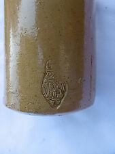 More details for stoneware salt glazed master ink bottle doulton  ,registration mark