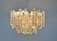 Kalmar Franken AG XXL Deckenlampe Ice Glas Lamp Shade Eisglas Leuchte Lampe