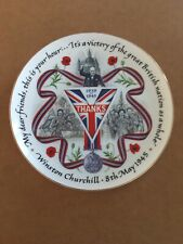 """More details for royal british legion bone china plate """"this is your hour"""""""