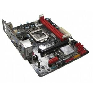 Biostar H61MLV2 VER 8.0 LGA1155 Motherboard With BP