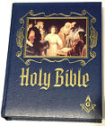 Large 1988 Masonic KJ Version Holy Bible Red Letter Heirloom Edition