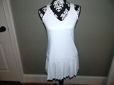 Women's Ralph Lauren White Tennis Dress Size Medium-NWT
