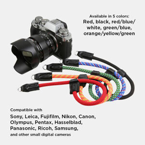 Climbing Rope Camera Wrist Strap QR for Sony A6600 A6500 A6400 A6300 A6000 A6100