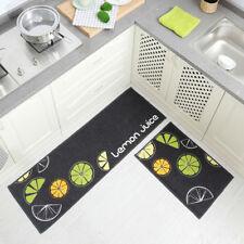 Absorbable Non Slip Rubber Kitchen Floor Door Bedroom Mat Rug Machine Washable