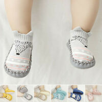 Baby Non-Slip Shoes Socks Kids Toddler Boots Home Slippers Girl Boy 0-18 Months