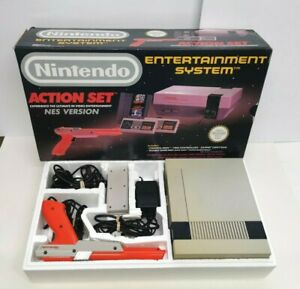 Nintendo NES Action Set Video Game Console Complete