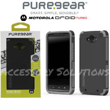 PUREGEAR DUALTEK EXTREME TOUGH IMPACT CASE FOR MOTOROLA DROID TURBO BLACK