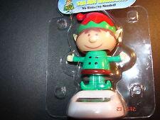 Panel Solar Navidad Elfo Nuevo Novedad bailando Flip Flap PAL X 1