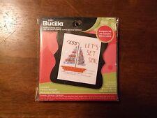 Bucilla Cross Stitch Mini Kit ~Let's Sail w/Frame #45751 NEW