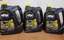New XPS 2 Stroke Full Synthetic Engine Oil Gallon 779127 Ski-Doo *3 Gallon Pack*