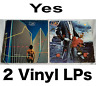 Yes: 2 vinyl LPs. Going For The One (Gatefold) & Tormato Anderson/Wakeman