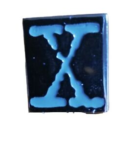 X FILES PIN BADGE
