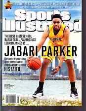 May 21, 2012 Jabari Parker Duke Simeon First RC Sports Illustrated NO LABEL