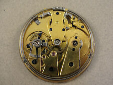 French Victorian REPEATER POCKET WATCH MOVEMENT