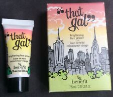 Benefit That Gal Brightening Face Primer 2 x 7.5ml. New & Sealed One without Box