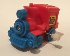 Vintage Wind Up Miniature Plastic Toy Train
