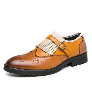 Men's Hollow Pointed Wingtip Wedding Dress New Dress Formal Wear Business Shoes
