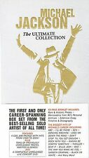 Michael Jackson: The Ultimate Collection 5 Disc Set 4 CDS 1 DVD  Free Shipping