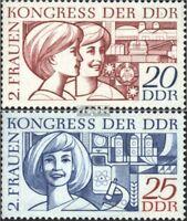 DDR 1474-1475 (kompl.Ausgabe) postfrisch 1969 Frauenkongreß