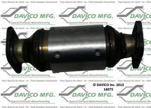 Catalytic Converter-Exact-Fit Davico Exc CA 16075