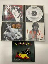 IGGY POP x5 CD Bundle Heritage / Preliminaires / Best Of / Naughty Little Doggie