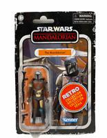 "NEW! Kenner Star Wars Retro Collection THE MANDALORIAN  3.75"" Figure F2019"
