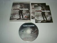 PlayStation 3 PS3 Tomb Raider game complete w/ case & manual, 2013 Square Enix