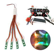 Bande led lumière nuit avec clignotant controller pour rc fpv quadricoptère drone