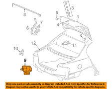 Pontiac GM OEM 99-05 Grand Am Trunk-Lock or Actuator Latch Release 22712680