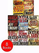 Jeff Lindsay Novel Dexter Series Collection 8 Books Set Dexter Is Dead F