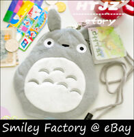Totoro Plush Phone Bag Coin Pouch Card Wallet Pencil Case Cosmetic bag hang neck