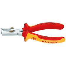 Knipex 160mm Wire Insulation Stripper Pliers 1000V VDE Insulated 11 06 160