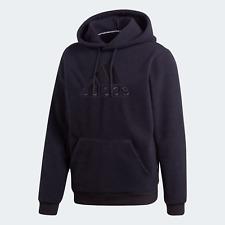 adidas Mens Sherpa Winter An ultra-soft Hoodie black