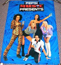 """SPICE GIRLS UK PROMO POSTER FOR THE SPECIAL PEPSI SINGLE """"GENERATION NEXT"""" 1997"""