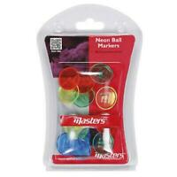 Masters Neon Golf Ball Markers (Pack of 12)
