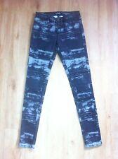 Ladies Grey SABA Skinny Jeans Size 26 AUS 8 Jeggings Black