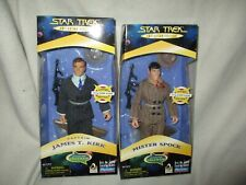 Star Trek A Piece of the Action Kirk & Spock 9inch set