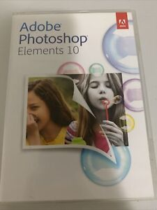Adobe Photoshop Elements 10 Software for PC & MAC w/ Serial Number