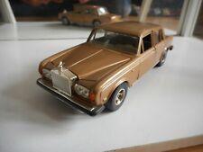 Bburago Burago Rolls Royce Silver Shadow II in Gold on 1:24