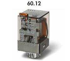 FINDER 60.12.8.012.0040 RELE' OCTAL 10A -250V - BOBINA 12VAC - 2 CONTATTI