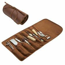 Leather Working Tools and Supplies - 11 Piece Set of Professional Leather Tools