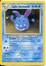 Pokemon Neo Destiny Holofoil Card #13/105 Light Azumarill